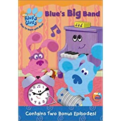 Blue's Clues: Blue's Big Band (DVD) [Import]