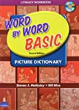 「Word by Word Basic Picture Dictionary (2E) Literacy Vocabulary Workbook + CD」のサムネイル画像