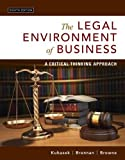 「The Legal Environment of Business: A Critical Thinking Approach (8th Edition)」のサムネイル画像