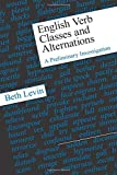「English Verb Classes and Alternations: A Preliminary Investigation」のサムネイル画像
