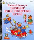 「Busiest Firefighters Ever! (Little Golden Storybook)」のサムネイル画像