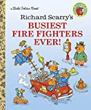 「Richard Scarry's Busiest Firefighters Ever! (Little Golden Book)」のサムネイル画像