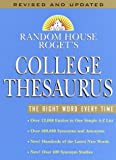 Random House Roget's College Thesaurus: Revised Edition