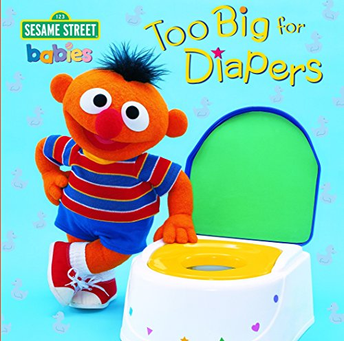 Too Big for Diapers: Featuring Jim Henson's Sesame Street Muppets (Too Big Board Books) Random House (編集), Jim Henson (編集), John E. Barrett (イラスト)
