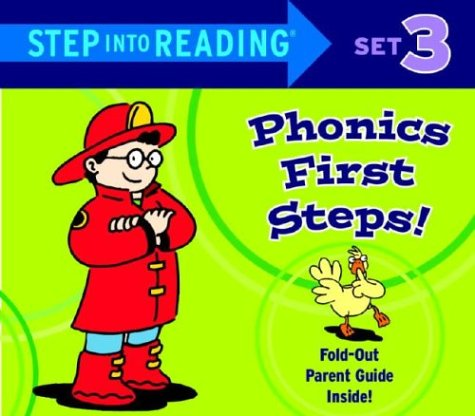 Step into Reading Phonics First Steps: Set 3