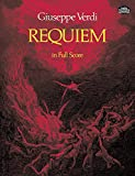 Verdi: Requiem in Full Scoreby Giuseppe Verdi, Andrea Maffei