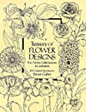 「Treasury of Flower Designs for Artists, Embroiderers and Craftsmen (Dover Pictorial Archive)」のサムネイル画像