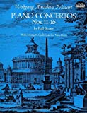 Mozart: Piano Concertos Numbers 11-16 in Full Scoreby Wolfgang Amadeus Mozart, Music Scoresby Wolfgang Amadeus Mozart, Music Scoresby Wolfgang Amadeus Mozart, Music Scoresby Wolfgang Amadeus Mozart, Opera and Choral Scores
