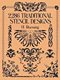 「2,286 Traditional Stencil Designs (Dover Pictorial Archive)」のサムネイル画像