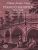 Mozart: Piano Concertos Nos. 7-10 in Full Score: With Mozart's Cadenzas for Nos. 9 and 10by Wolfgang Amadeus Mozart, Music Scoresby Wolfgang Amadeus Mozart, Music Scores