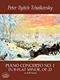 Piano Concerto No. 1 in B-Flat Minor, Op. 23, in Full Score (Dover Music Scores)by Ludwig van Beethoven, Felix Mendelssohn, Peter Ilyitch Tchaikovsky