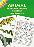 「Animal Search-a-Word Puzzles (Dover Little Activity Books)」のサムネイル画像