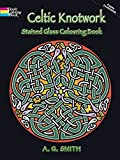 「Celtic Knotwork Stained Glass Colouring Book (Dover Design Stained Glass Coloring Book)」のサムネイル画像