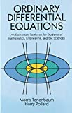 「Ordinary Differential Equations (Dover Books on Mathematics)」のサムネイル画像