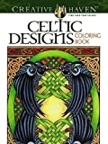「Creative Haven Celtic Designs Coloring Book (Adult Coloring)」のサムネイル画像
