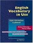 English Vocabulary in Use: Upper-Intermediate