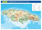 Philip's Jamaica Wall Map (WALL MAP)
