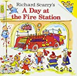 「Richard Scarry's a Day at the Fire Station (Richard Scarrys)」のサムネイル画像