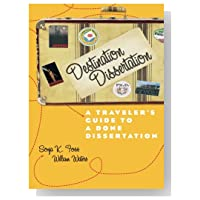 sonja foss destination dissertation He coauthored destination dissertation with sonja foss, and continues to present writing workshops for faculty and graduate students working.