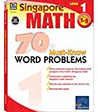 「Singapore Math 70 Must-Know Word Problems, Level 1 (Singapore Math 70 Must Know Word Problems)」のサムネイル画像