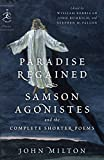 「Paradise Regained, Samson Agonistes, and the Complete Shorter Poems (Modern Library Classics)」のサムネイル画像