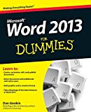 「Word 2013 For Dummies」のサムネイル画像