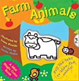 Mini Magic Color Books: Farm Animals