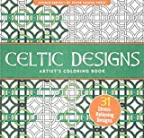 「Celtic Designs Artist's Adult Coloring Book (Studio)」のサムネイル画像