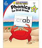 「Phonics for First Grade (Home Workbooks: Gold Star Edition)」のサムネイル画像
