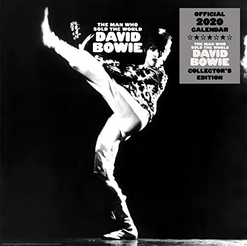 David Bowie Collectors Edition 2020 Calendar - Official Square Wall Format Calendar with Record Sleeve Cover