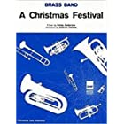 Christmas Festival: (Brass Band Score and Parts)