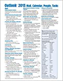 「Microsoft Outlook 2013 Mail, Calendar, People, Tasks Quick Reference (Cheat Sheet of Instructions, T...」のサムネイル画像