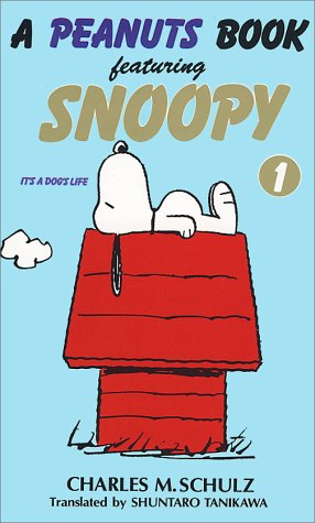 peanuts book featuring Snoopy
