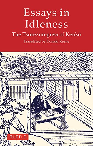 inside the mind of a bibliophile essays in idleness by the  essays in idleness by the tsurezuregusa of kenko review 2