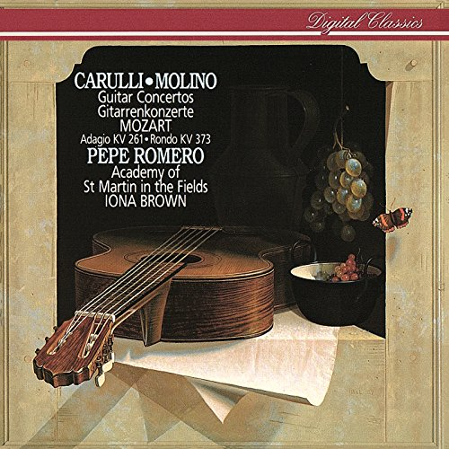 Pepe/Romero、Academy of St Martin in the Fields/Mozart, Carulli and Molino Guitar Concertos