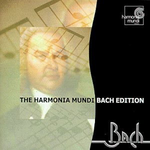 The Harmonia Mundi Bach Edition (Sampler)/ Herreweghe, Jacobs, et al.