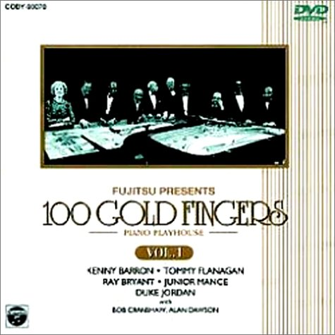100 GOLD FINGERS-PIANO PLAYHOUSE- Vol.1 [DVD]