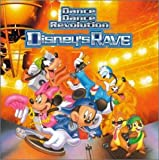 Pochette de l'album pour Dance Dance Revolution Disney's Rave (disc 1: Original Soundtrack)