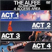 ALL OVER JAPAN 4ACCESS AREA 1988 [DVD]