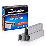 「S.F. 13 Heavy-Duty 3/4 Inch Leg Length Staples, 160-Sheet Capacity, 1,000/Box (並行輸入品)」のサムネイル画像