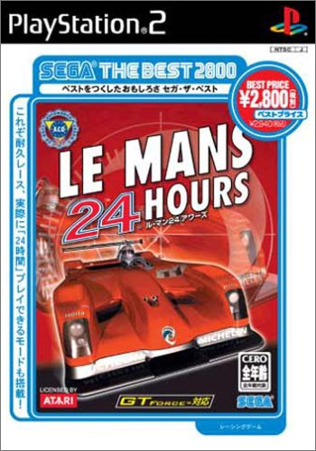 LE MAN 24 HOURS SEGA THE BEST2800