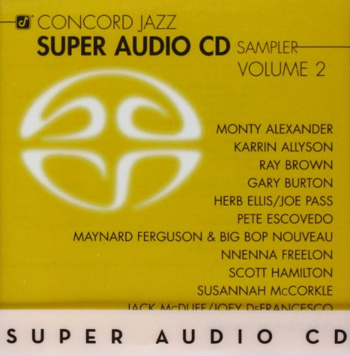 Concord Jazz Super Audio CD Sampler 2