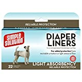 「Bramton Simple Solution Travel Dog Dispose Diaper Liner Light Absorbency 22Pk」のサムネイル画像