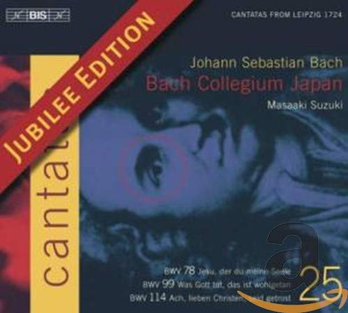 J.S. バッハ:カンタータ全集Vol.25 (J.S.Bach: Cantatas Vol.25) [Import]