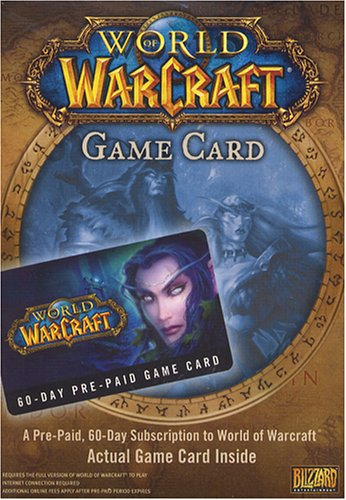 World of Warcraft 60 Day Game Card (輸入版:北米)