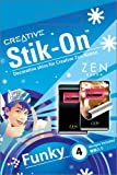 Zen Neeon用Creative Stik-Onスキン Funky 4枚入り[CZNSSB1-4](Neeonアクセサリー)