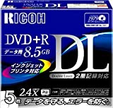 RICOH D2RDD-W5CW 2層式DVD+R DL for Data