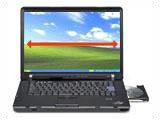 Lenovo ThinkPad Z60m (CeleronM 1.40GHz 15.4'WXGA 60GB 512MB Combo 無線LAN セキュリティー・チップ 指紋センサー Windows XP Pro MS Office Personal 2003) [253028J]