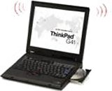 Lenovo ThinkPad G41 (P4 3.33GHz 15.0'SXGA+ 80GB 512MB DVD Multi 無線LAN 12cell Li-Ion Windows XP Pro ) [28816NJ]