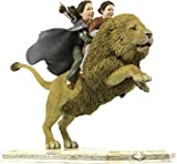 The Chronicles Of Narnia / The Lion, The Witch & The Wardrobe - Statue : Lucy & Susan On Aslan